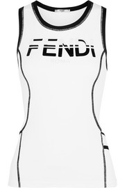 Fendi Stretch-jersey tank