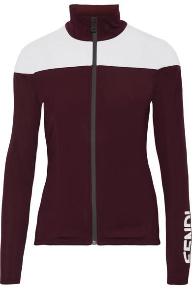 Fendi - Stretch-jersey Jacket - Merlot
