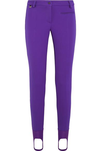 Fendi - Tech-jersey Ski Leggings - Purple