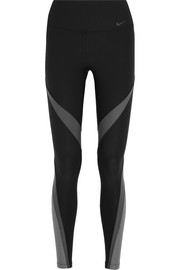 Nike Power Legend Twist stretch-jersey leggings