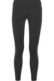 Bonded stretch-jersey leggings