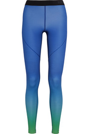 Nike Pro Hyperwarm ombré Dri-FIT stretch-jersey leggings