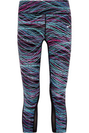 Nike Printed Dri-FIT stretch-jersey leggings