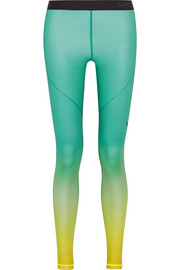 Nike Pro Hyperwarm dégradé Dri-FIT stretch-jersey leggings