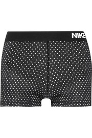 Nike Pro Cool Dri-FIT printed stretch-jersey shorts