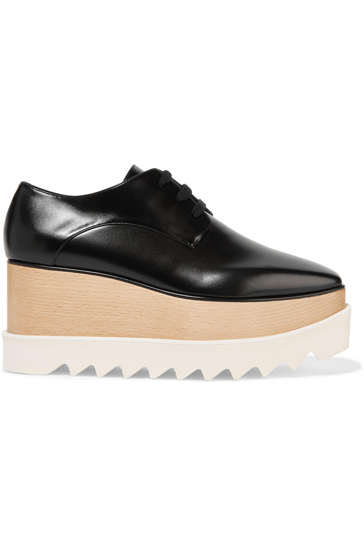 Stella McCartney Faux leather platform brogues