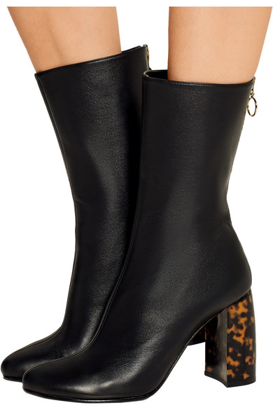 stella mccartney faux leather ankle