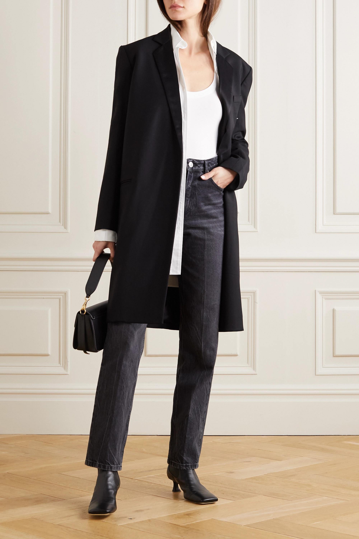 La Perla Souple lace-trimmed stretch cotton-blend jersey bodysuit