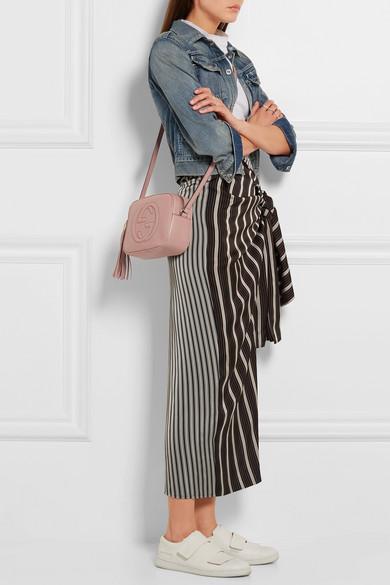 7c3ab8617 Gucci | Soho Disco textured-leather shoulder bag | NET-A-PORTER.COM