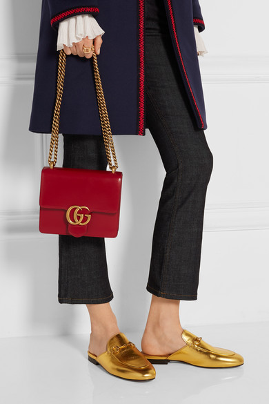 2161c77e0bb4 Gucci. GG Marmont mini leather shoulder bag.  1
