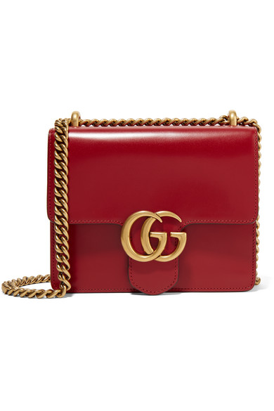 9d1a80bb88f5 Gucci | GG Marmont mini leather shoulder bag | NET-A-PORTER.COM