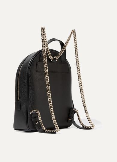 Gucci. Soho textured-leather backpack 20ea2b4ba1ce3