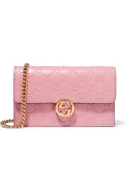 Gucci Icon embossed leather shoulder bag