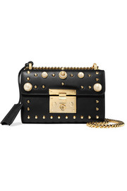 Gucci Padlock mini embellished leather shoulder bag