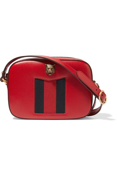 Gucci - Animalier Textured-leather Shoulder Bag