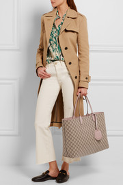 Gucci Turnaround medium reversible textured-leather tote
