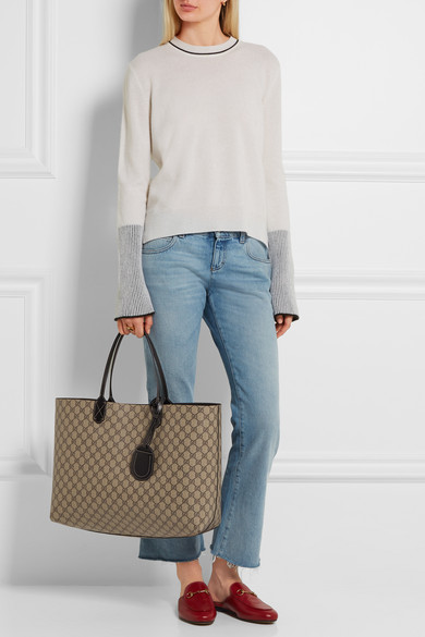 7c1aef1ae Gucci | Turnaround medium reversible leather tote | NET-A-PORTER.COM