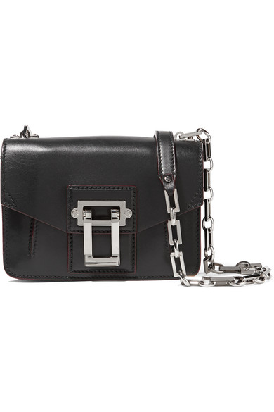 Proenza Schouler - Hava Leather Shoulder Bag - Black