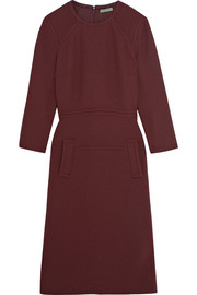 Bottega Veneta Wool-crepe dress