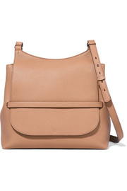 The Row Sideby textured-leather shoulder bag