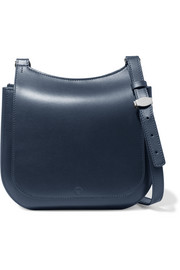 Hunting leather shoulder bag