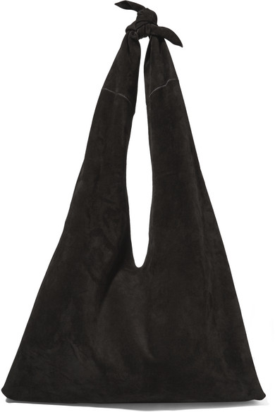 398d2e0e47 The Row. Knot suede shoulder bag