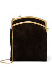 Jarnette suede shoulder bag