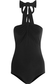 Convertible halterneck swimsuit