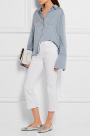 Charlotte cropped mid-rise straight-leg jeans