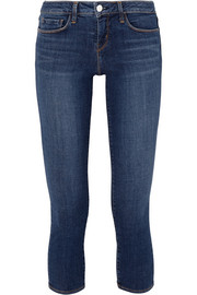 Juliette cropped low-rise skinny jeans
