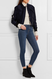 L'Agence The Margot cropped mid-rise skinny jeans
