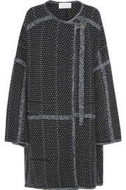 Chloé Oversized wool and cashmere-blend bouclé coat