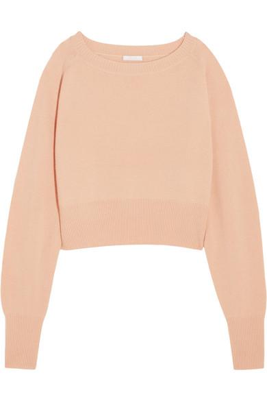 Chloé | Cropped cashmere sweater | NET-A-PORTER.COM