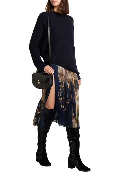 17a9d079472f5 Sam Edelman. Elina velvet over-the-knee boots