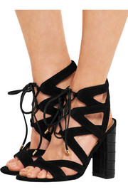 Yardley lace-up suede sandals