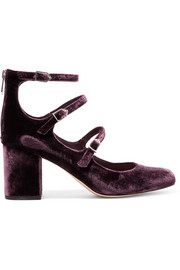 Calista velvet pumps
