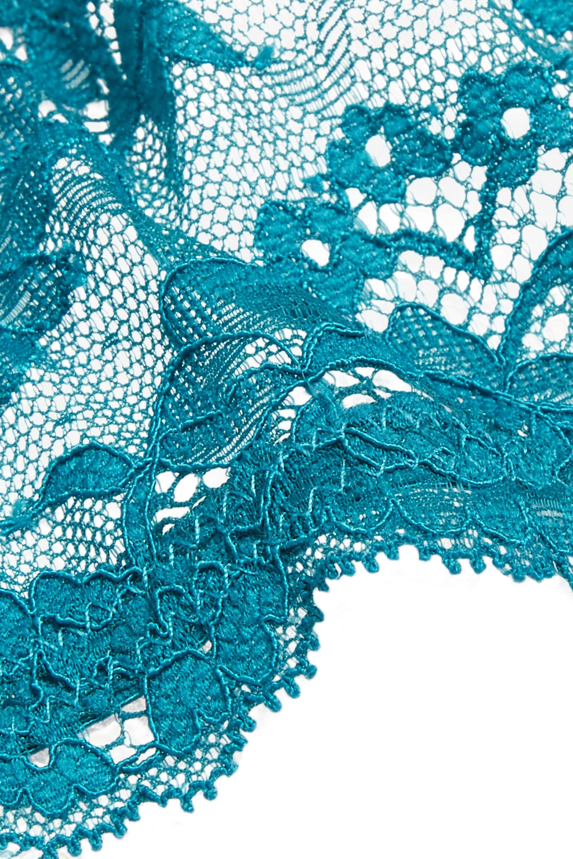 Elle Macpherson Body Zest stretch-lace plunge bra