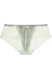 Wink stretch-lace briefs
