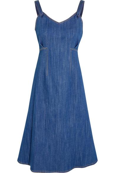 Adam Lippes - Denim Dress - Blue