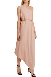Stella McCartney Charlie one-shoulder stretch-crepe gown