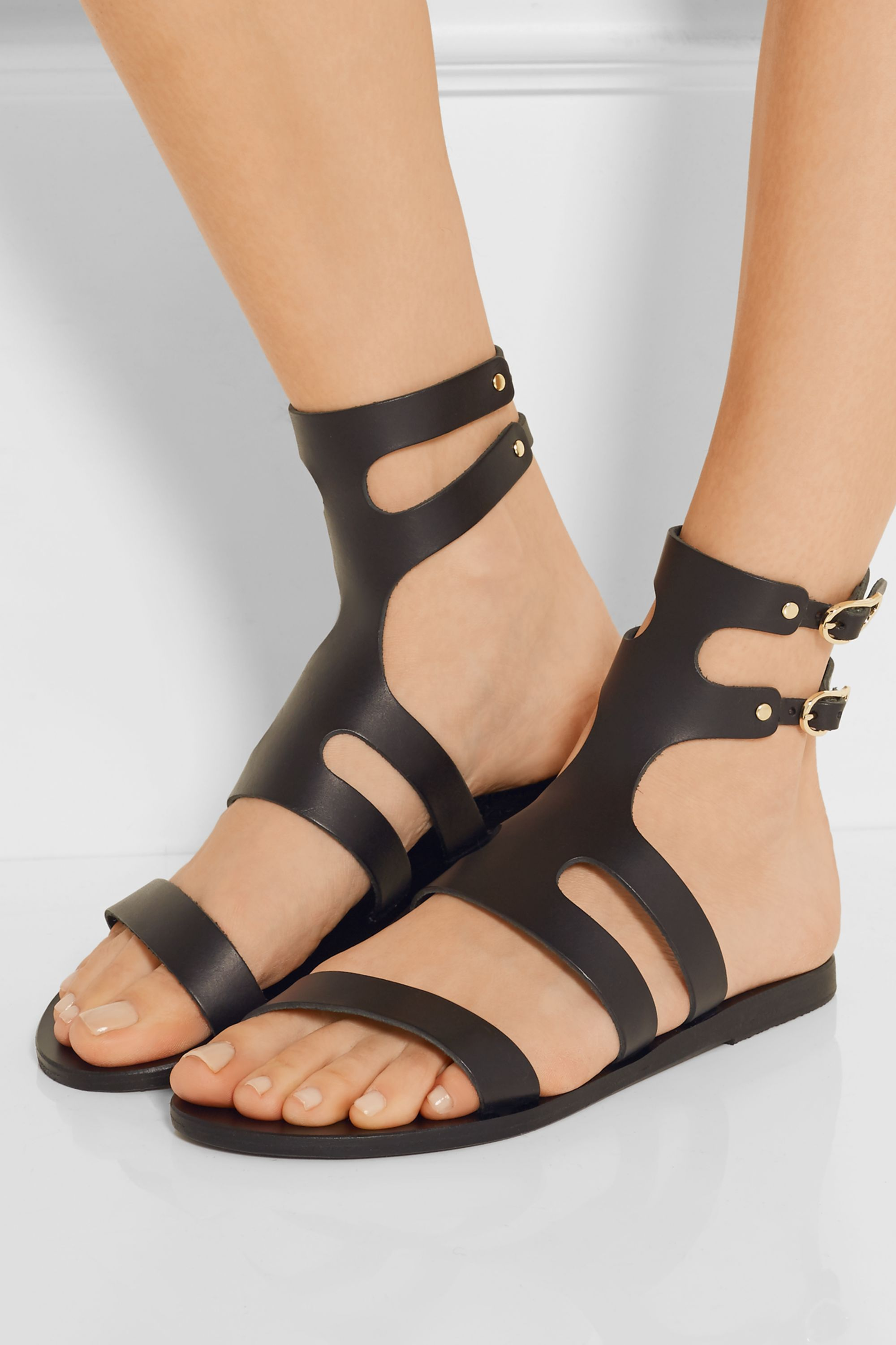 Ancient Greek Sandals Agapi leather sandals