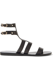 Agapi leather sandals