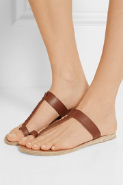 Ancient Greek Sandals Melpomeni braided leather sandals