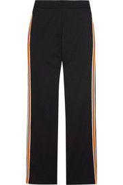 See by Chloé Striped stretch cotton-blend straight-leg pants