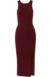 Elizabeth and James Ritter stretch-ponte midi dress