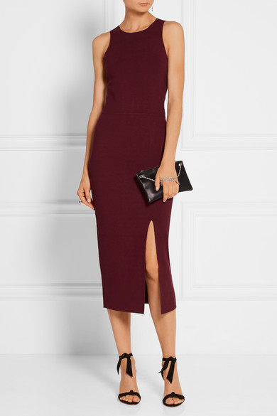 Elizabeth and james ritter stretch ponte midi dress for Neiman marcus wedding guest dresses