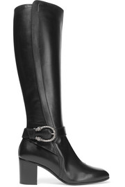Gucci Dionysus leather knee boots