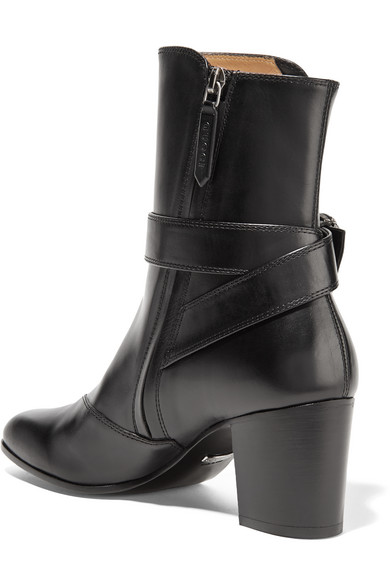 55e26b16b7f Dionysus leather ankle boots.  1