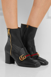 Gucci Leather ankle boots