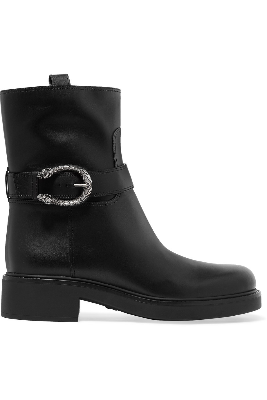 Gucci Dionysus Leather Boots, Size: 37.5